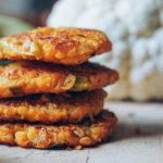 Hamburguesas de coliflor, puerros y avena | Comida Vegetariana