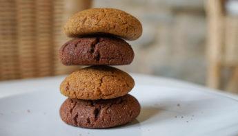 Galletas de chocolate y jengibre de un 8 de julio | Comida Vegetariana