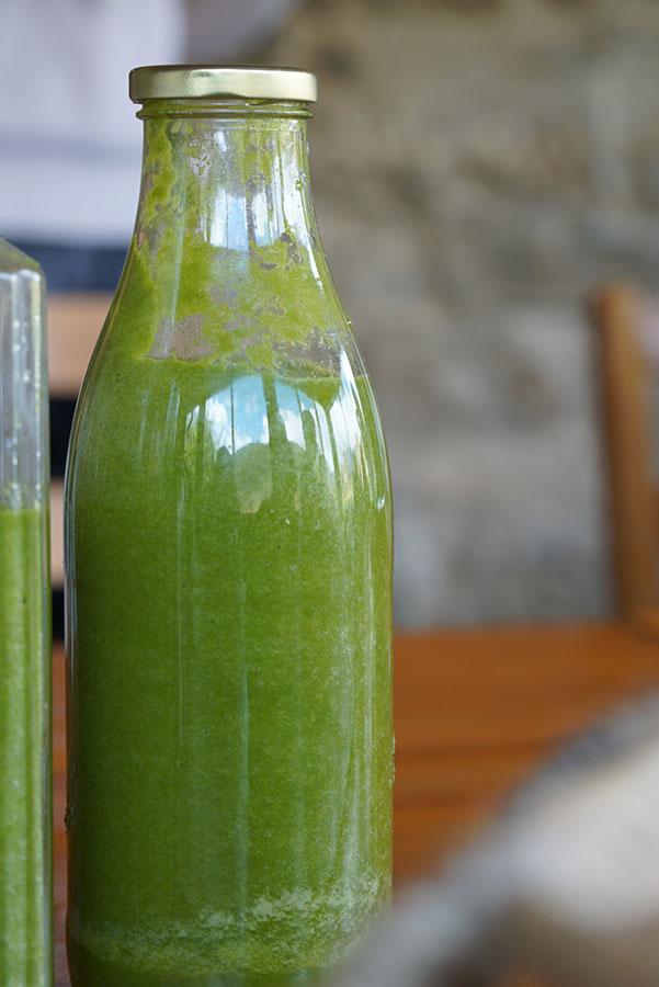 Batido verde energizante | Comida Vegetariana