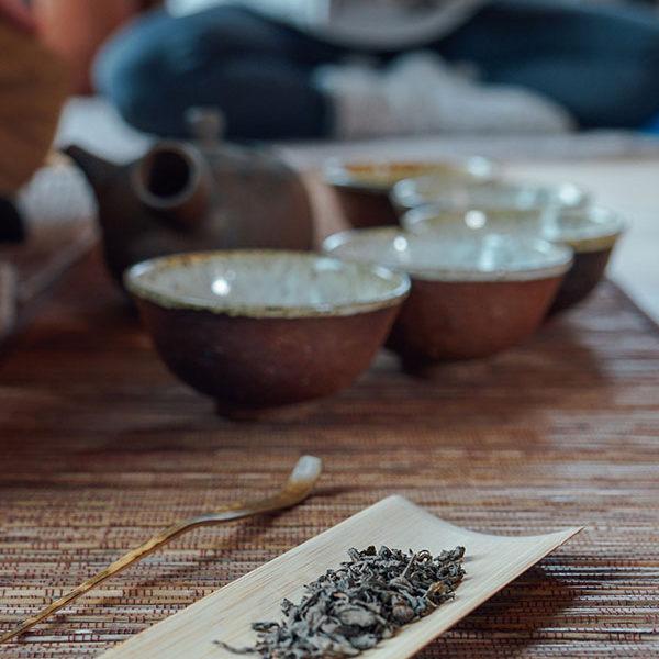 Ceremonia de té en Casa Cuadrau