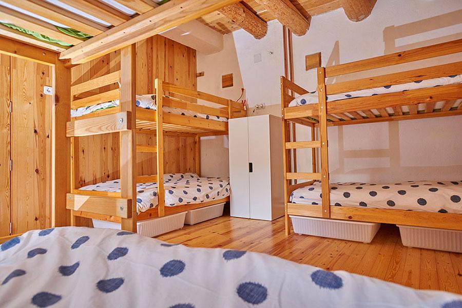 Dormitorio mixto en Casa Cuadrau
