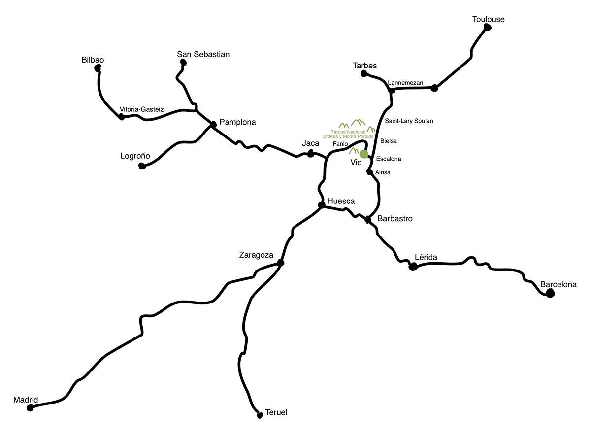 Mapa Casa Cuadrau