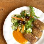 Croquetas de quinoa con verduras casa cuadrau