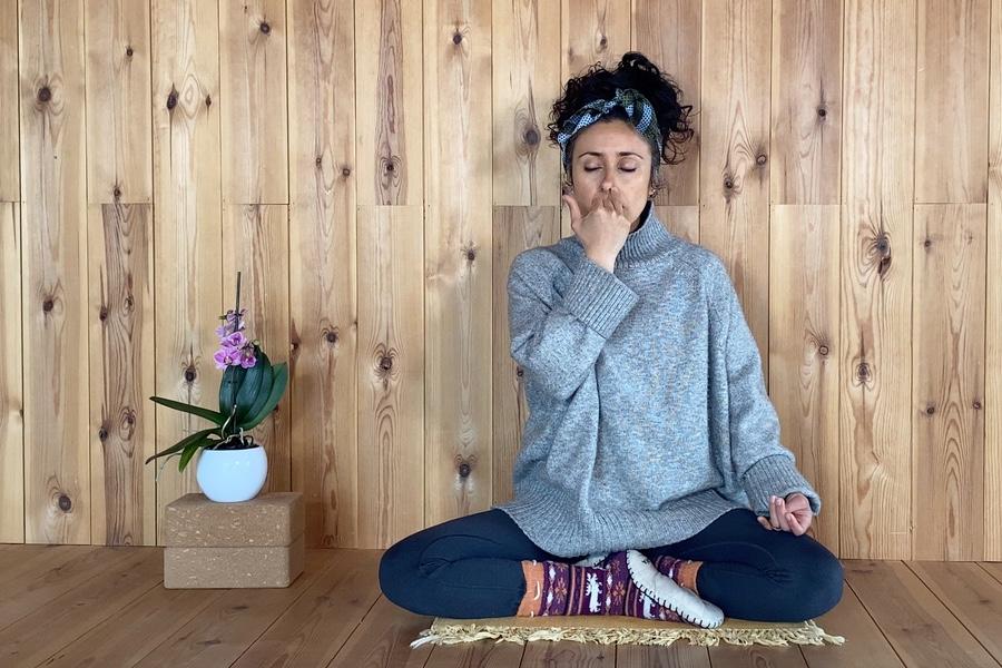 Pranayama Suave y Yoga Casa Cuadrau