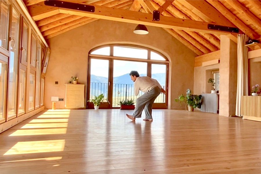 Meditación Movimiento Consciente Natural Casa Cuadrau