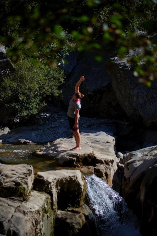 Forest Bathing in Casa Cuadrau Yoga Retreats Pyrenees