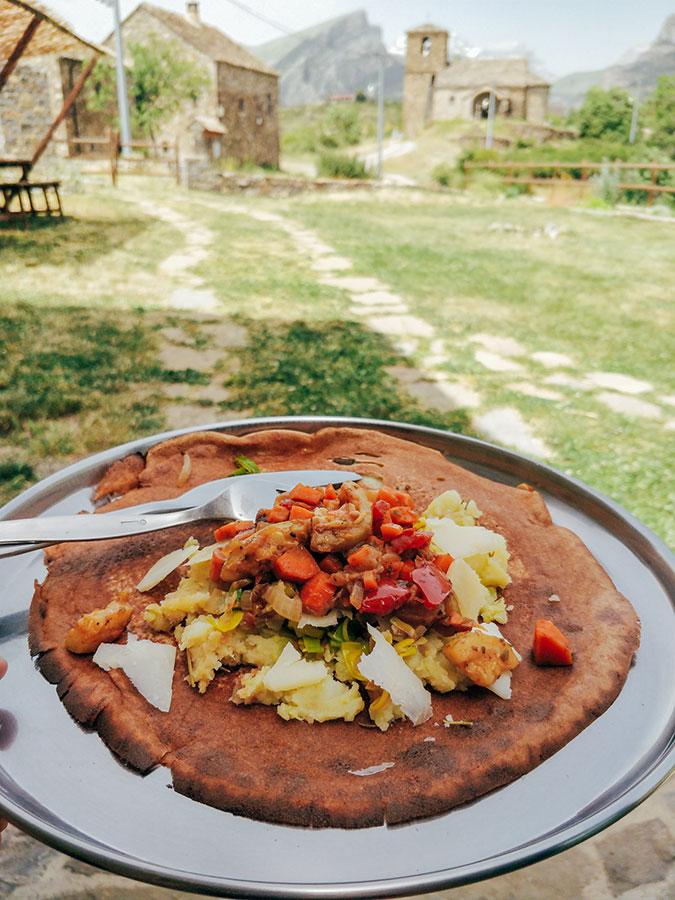 Crêpes | Comida Vegetariana