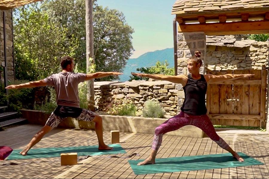 Vinyasa Flow Yoga Class Casa Cuadrau