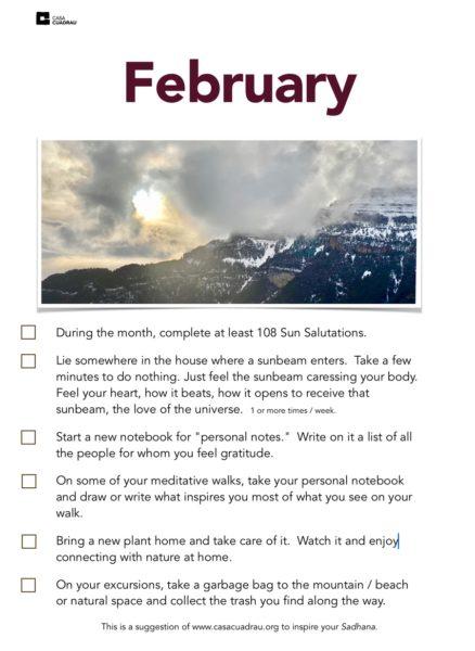 February monthly inspiration by casa CUADRAU