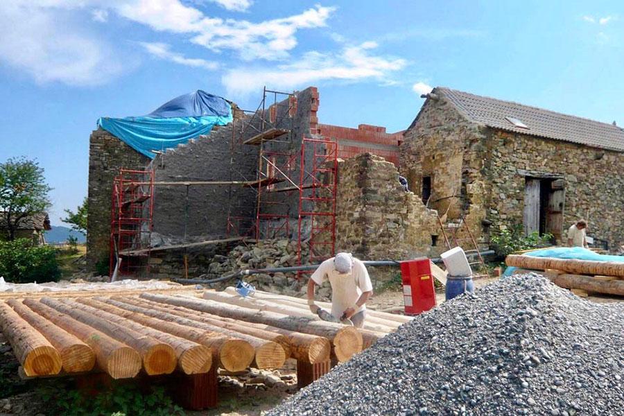 2009-2011 Casa Cuadrau proyecto de renovación
