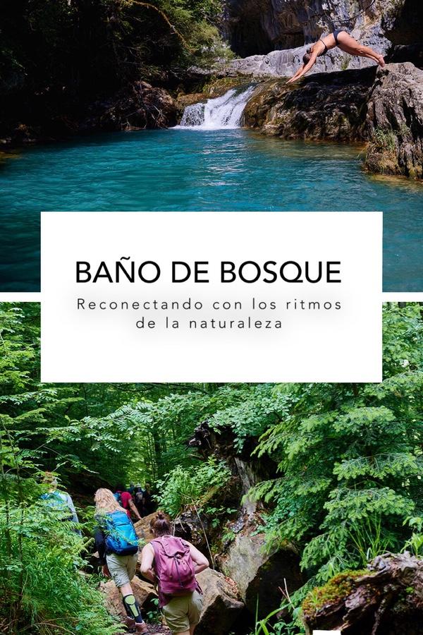 Baño de Bosque Casa Cuadrau Retiro de Yoga y Senderismo Pirineos